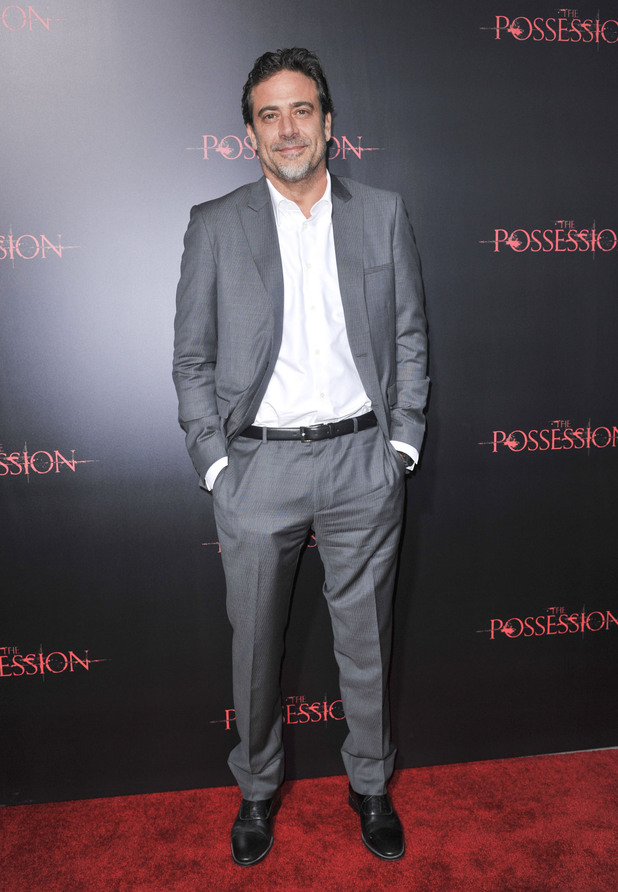 Jeffrey Dean Morgan The premiere of 'The Possession'