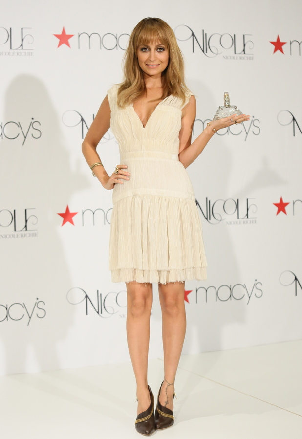 Nicole Richie launches her new fragrance 'Nicole' at Macy's in Glendale