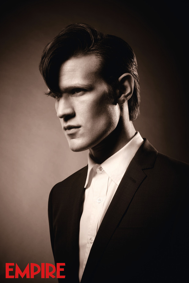 Matt Smith channelling David Bowie for Empire