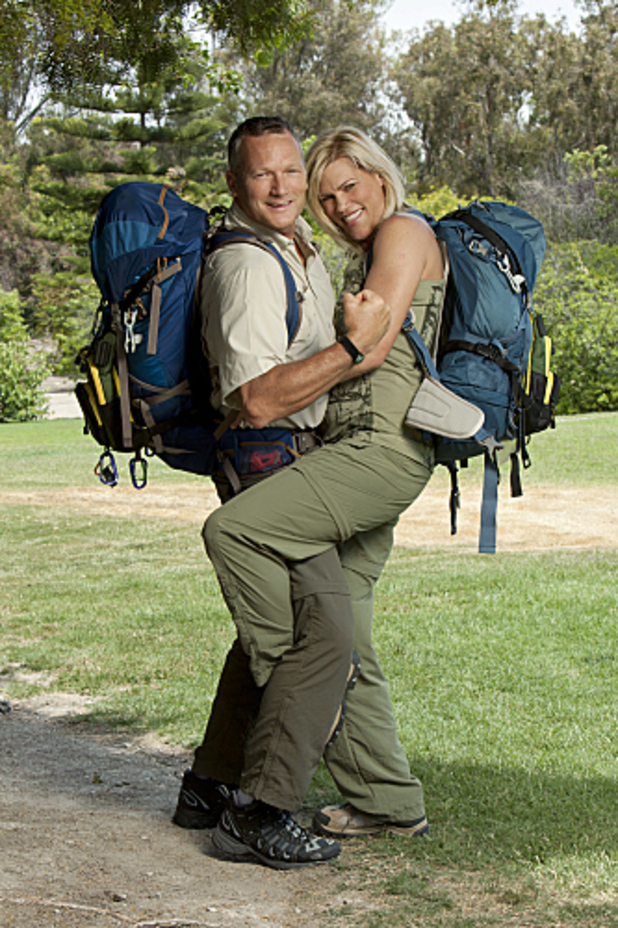 The Amazing Race - Season 21: Rob Scheer and Sheila Castle