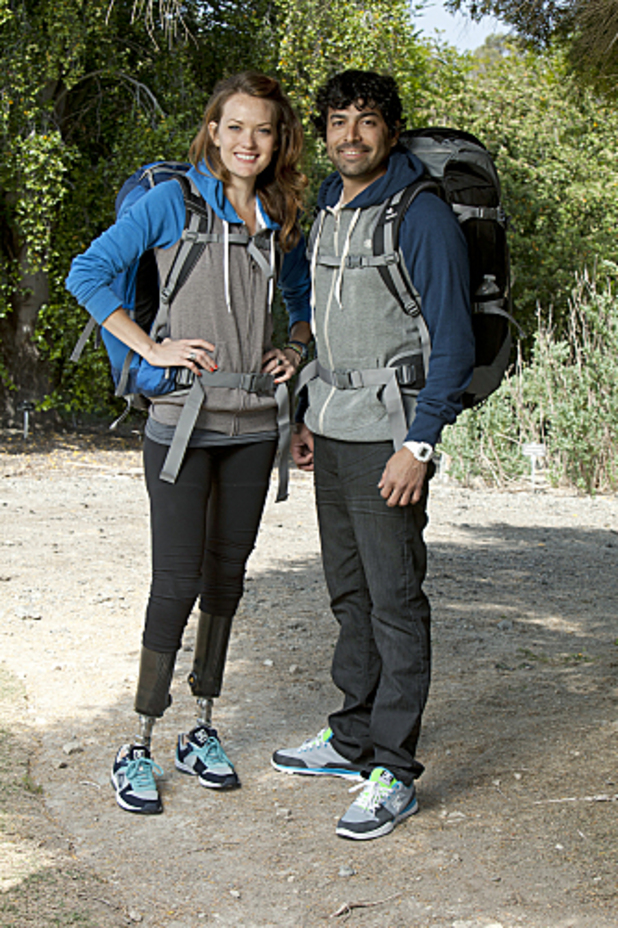 The Amazing Race - Season 21: Amy Purdy and Daniel Gale