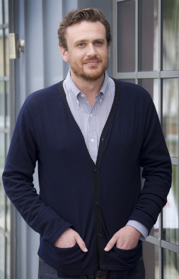 Actor Jason Segel poses during a photo call for the film The Five-Year Engagement