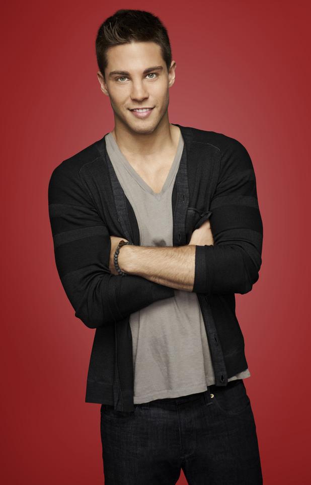 Dean Geyer - Glee Season 4 Character Portraits - Digital Spy