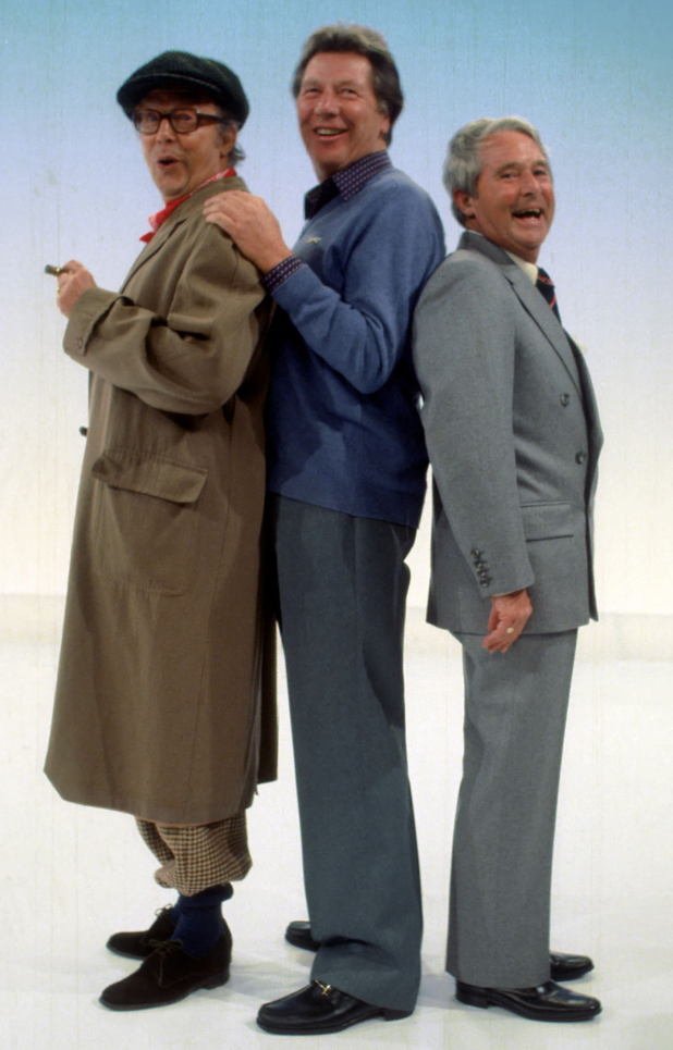 Max Bygraves, Eric Morecambe and Ernie Wise