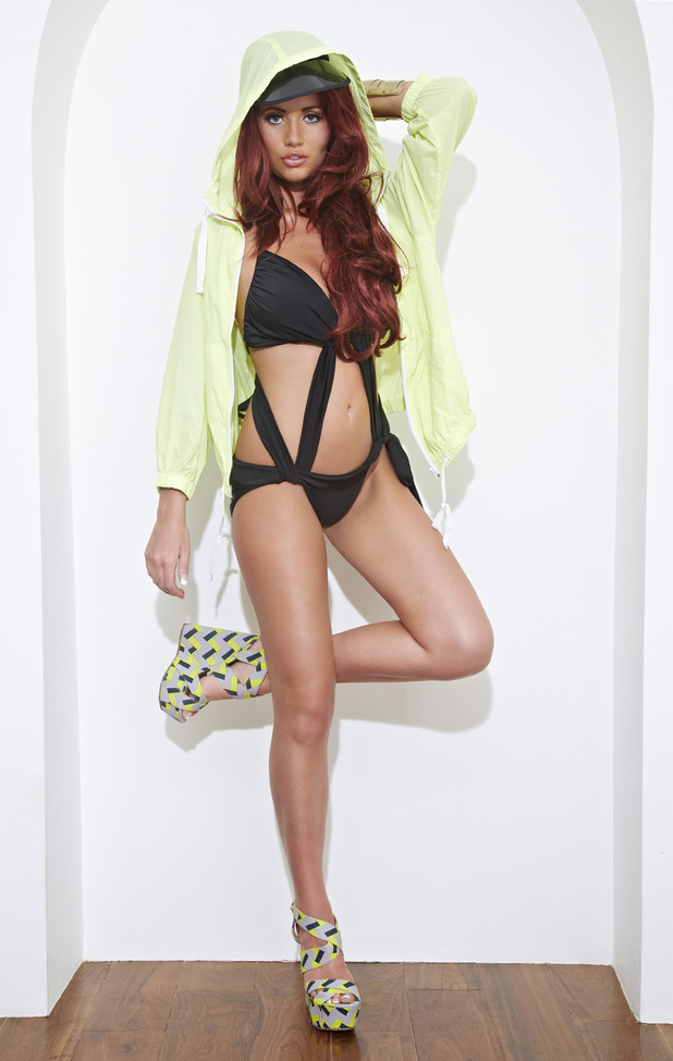 Amy Childs's swimwear range: Marbella