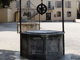 Five Wells Square one of the sources of water when the city had been under siege, Perivoj Kral, Zadar, Croatia