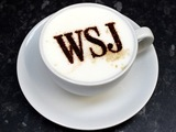 Wall Street Journal London cafe