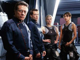 Battlestar Galactica 2004 remake.