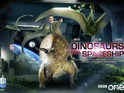 "Chris Chibnall says 'Dinosaurs on a Spaceship' is a ""big, fun, loud romp""."