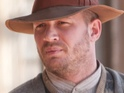 Tom Hardy plays cardigan-wearing bootlegger in Digital Spy's exclusive Lawless pictures.