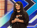 Two-time X Factor contestant hints on Twitter that she auditioned for the rival show.