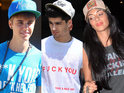 Rihanna, Justin Bieber, Zayn Malik and more wearing rude T-shirts.