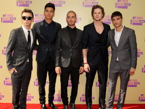 The Wanted at MTV Video Music Awards 2012