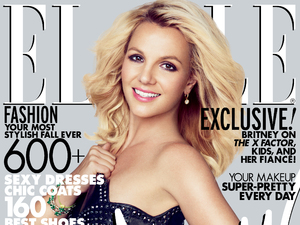 Britney Spears US Elle cover October 2012