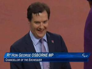 George Osborne gets booed