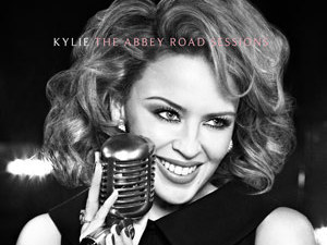 Kylie Minogue &#39;The Abbey Road Sessions&#39; album artwork.