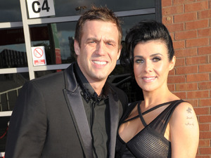 Kym Marsh and Jamie Lomas Manchester United Player Of The Season Awards held at Old Trafford - Arrivals Manchester, England - 14.05.12 Mandatory Credit: Steve Searle/WENN.com