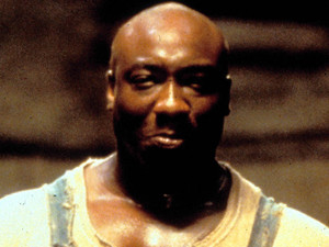 Michael Clarke Duncan stars alongside Tom Hanks and David Morse in 'The Green Mile' (1999)