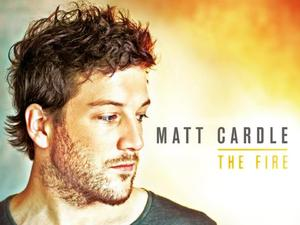 Matt Cardle artwork for 'The Fire'.