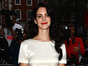 Lana Del Rey, GQ Awards 2012