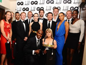 Team GB at GQ Men of the Year awards