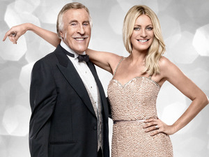 Strictly Come Dancing 2012: Bruce Forsyth and Tess Daly.