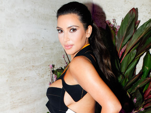 Kim Kardashian, Brian Atwood Flagship Store Launch Party, New York