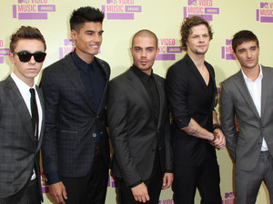 : 2012 MTV Video Music Awards Arrivals, Los Angeles, America - 06 Sep 2012 Subhead: The Wanted Supplementary info: Categories: Personality Byline: Jim Smeal/BEI/Rex Features