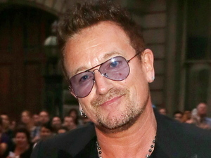 Bono arriving at the 2012 GQ Men Of The Year Awards at the Royal Opera House, London