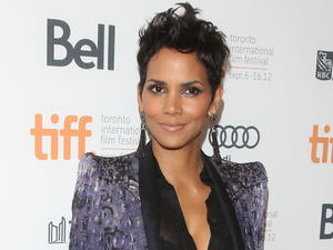 Halle Berry at the 'Cloud Atlas'  premiere arrival at the Princess of Wales Theatre during the 2012 Toronto International Film Festival.