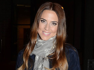 Mel C outside the RTE Studios for filming of 'The Late Late Show'.