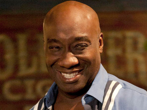 Michael Clarke Duncan stars in the TV series &#39;The Finder&#39; in 2012, a spin-off from the TV series &#39;Bones&#39;