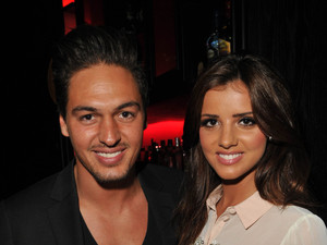 Mario Falcone and Lucy Mecklenburgh at the Jeans for Genes 2012 launch party