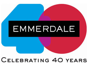 Emmerdale 40th Anniversary logo