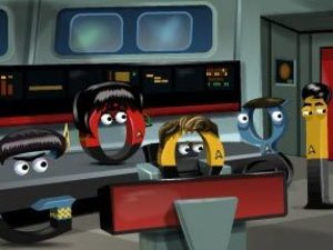 Star Trek &#39;Google Doodle&#39; to celebrate the sci-fi show&#39;s 46th anniversary