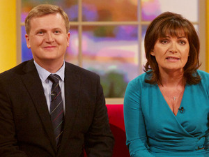 Aled Jones and Lorraine Kelly, new Presenters of the new look 'Daybreak'.