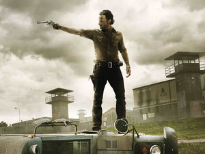 US TV series 'Walking Dead' - Season 3 poster