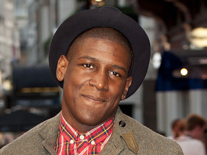 Labrinth real name Timothy McKenzie at The Sweeney UK film premiere held at the Vue cinema - Arrivals London