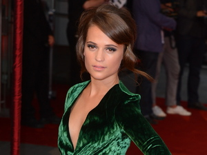 Alicia Vikander at the premiere of &quot;Anna Karenina&quot; at Odeon, Leicester Square, London, England- 04.09.12