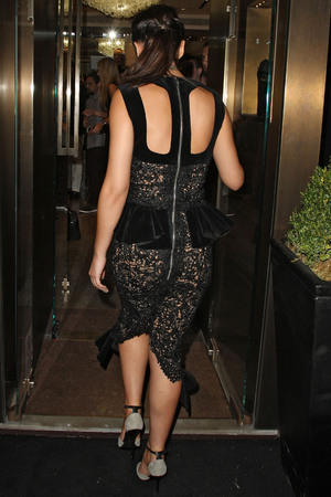 Cheryl Cole at Giuseppe Zanotti Design store on Sloane Street. London