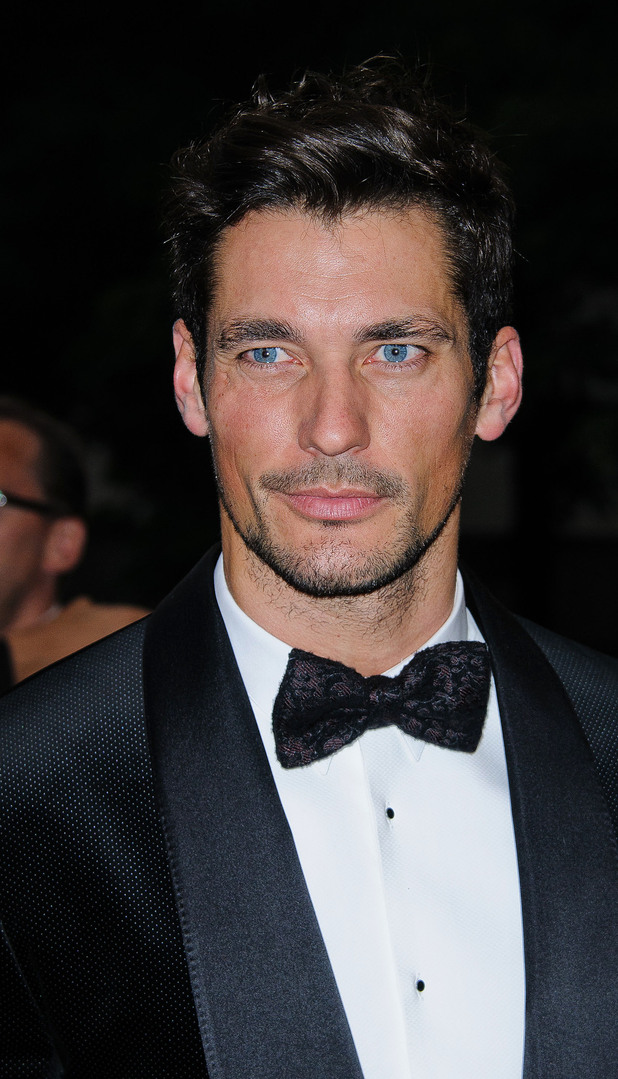 David Gandy The GQ Men of the Year Awards 2012 - arrivals London