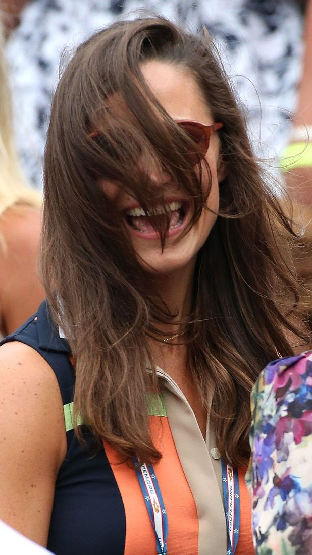 Pippa Middleton, US Open 2012 Women's Match