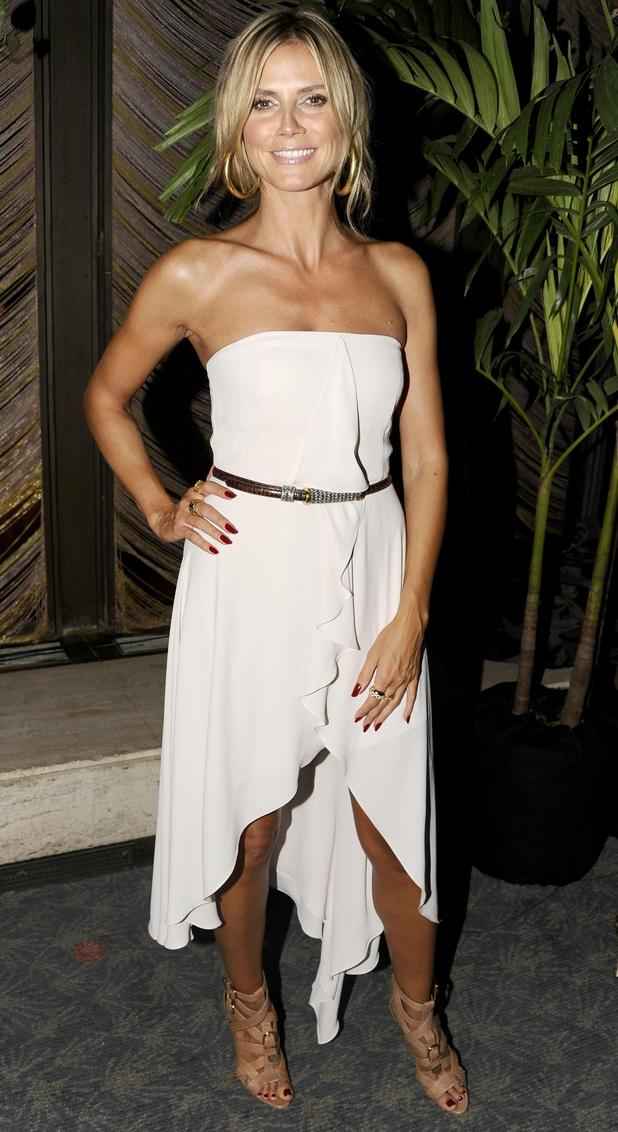 Heidi Klum, Brian Atwood Flagship Store Launch Party