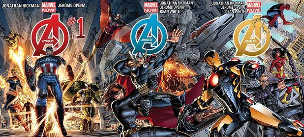 Avengers interlinking cover