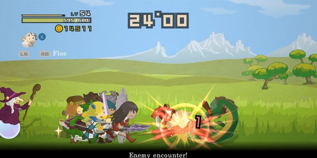 Half Minute Hero PSN & Steam editions screenshot