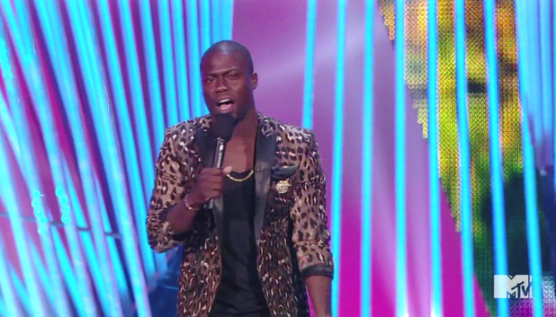 Kevin Hart at the MTV Video Music Awards 2012