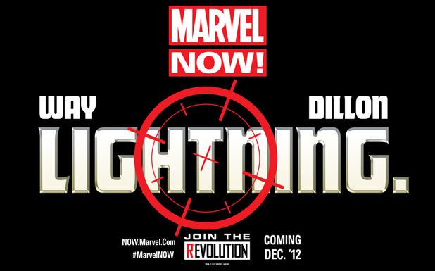 Marvel NOW! Lightning teaser