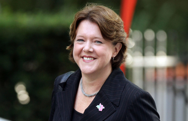 The newly named Culture Secretary Maria Miller leaves No 10 Downing Stree