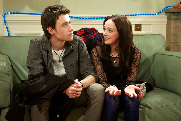 Shane O'Meara and Kirstie Steele in Waterloo Road