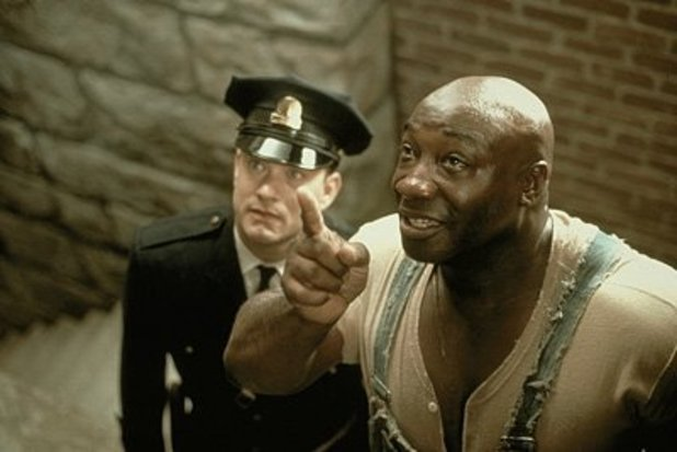 Tom Hanks and Michael Clarke Duncan in 'The Green Mile'